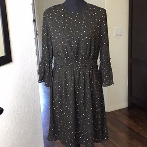 NWOT- H&M polkadot dress